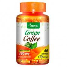 Green Coffee 500mg (60caps + 10 Grátis) - Tiaraju