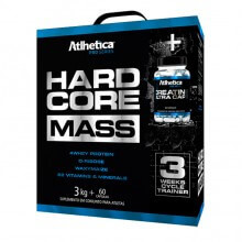 Hardcore Mass (3Kg) + Creatina (60caps) - Atlhetica Nutrition