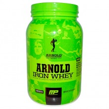 Iron Whey (908g) - Arnold Schwarzenegger by Muscle Pharm
