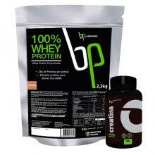 Imagem - Kit 100% Whey Protein (2,3kg) + Creatina (300g) - BP Suplementos