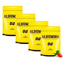Kit 4 Albuminas com Sabor (500g) - Naturovos (Total: 2kg)
