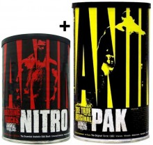 Kit Animal Universal (Animal Nitro 30 + Animal Pak 44) - Universal Nutrition