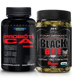 Kit CA 1000mg (90caps) + Black Bee (60caps) - Probiótica