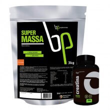 Kit Super Massa (3kg) + Creatina (300g) - BP Suplementos