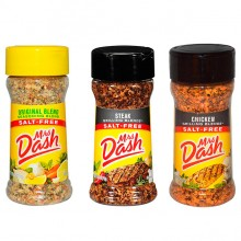 Kit Temperos (Original, Steak, Chicken) - Mrs Dash