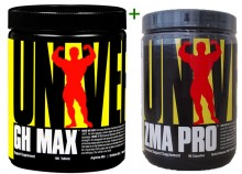 Kit Explosão Hormonal (GH Max (180tabs) + ZMA Pro (90tabs)) - Universal Nutrition