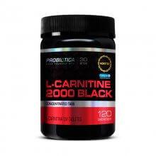 L-Carnitine 2000 Black (120tabs) - Probiótica