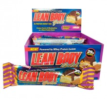 Lean Body Gold Bar (Caixa c/ 12 barras) - Labrada