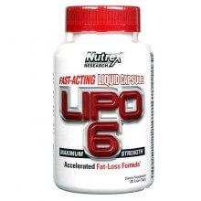 Lipo 6 Fast Acting (120liqui-caps) - Nutrex Research
