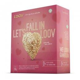 Loov Coração com Recheio de Gianduia 250g - Chocolife
