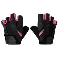 Luvas de Musculação Fem. Pro (Preto/Rosa) - Harbinger