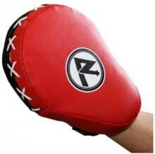 Luvas de Foco (Preta/Vermelha) (PAR) - Rudel