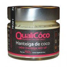 Manteiga de Coco Sabor Manteiga (150g) - Qualicôco