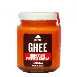 Manteiga Ghee com Pimenta Caiena 200g - Benni