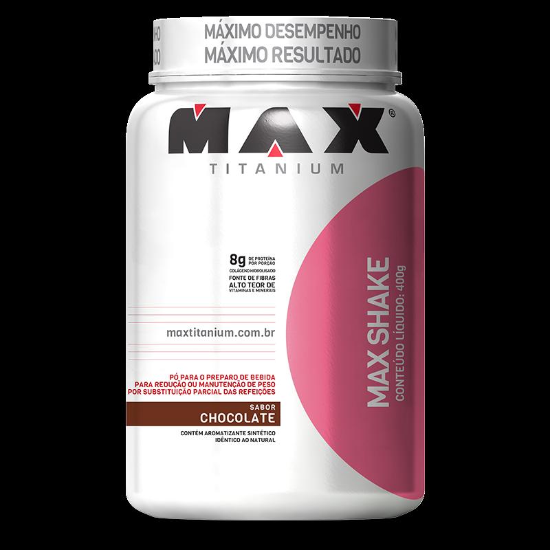 Max Shake (400g) Max Titanium -Chocolate