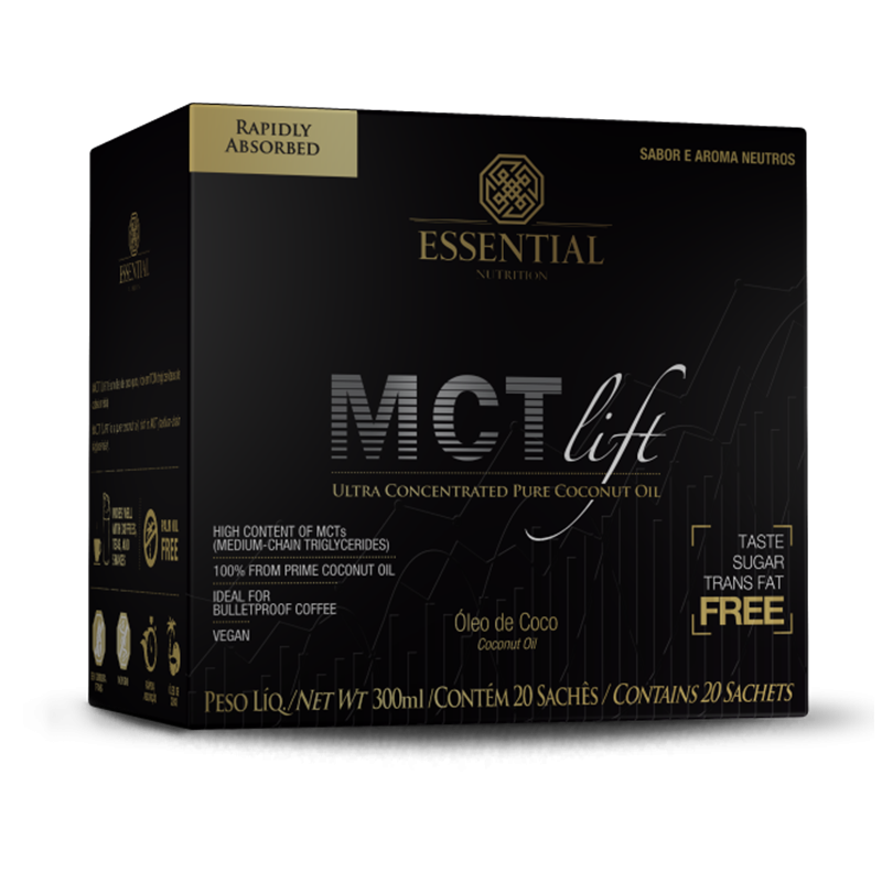 MCT Lift (15 sachês-20g) Essential Nutrition