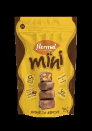 Mini Bombom Amendoim 70g - Flormel