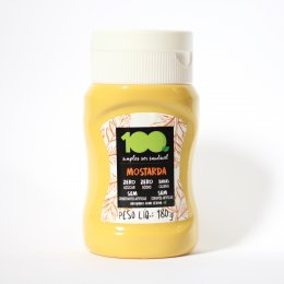 Mostarda Zero 180g - 100 Foods