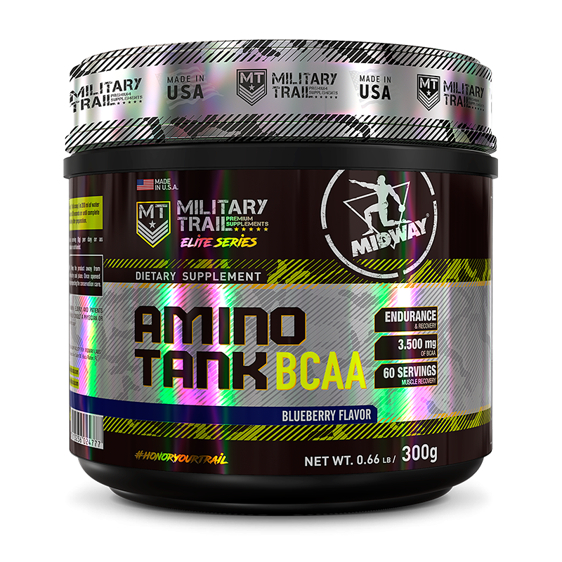Amino Tank BCAA (300g) Military Trail-Blueberry