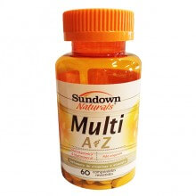 Multi AZ (Multivitamínico) (60caps) - Sundown