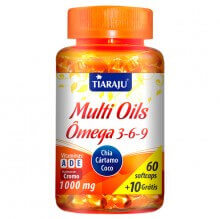 Imagem - Multi Oils (Ômega 3 - 6 - 9) (60caps + 10 Grátis) - Tiaraju