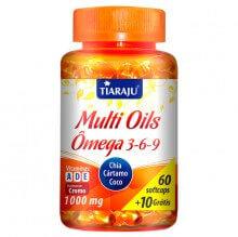 Multi Oils (Ômega 3 - 6 - 9) (60caps + 10 Grátis) - Tiaraju
