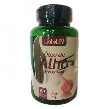 Óleo de Alho Desodorizado 250mg (60caps) - Linholev