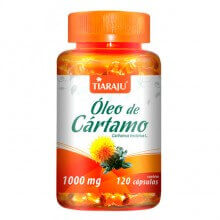Óleo de Cártamo 1000mg (120caps) - Tiaraju