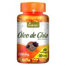 Óleo de Chia 500mg (60caps) - Tiaraju