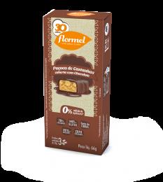 Paçoca de Castanhas c/ Chocolate Zero 60g - Flormel