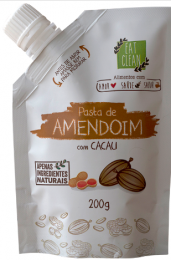 Pasta de Amendoim Cacau Zero 200g - Eat Clean