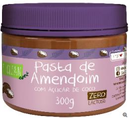 Pasta de Amendoim com Açúcar de Coco 300g - Eat Clean