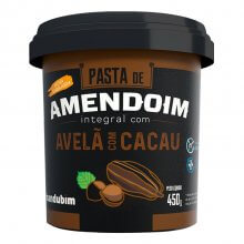 Pasta de Amendoim com Avelã e Cacau (450g) - Mandubim