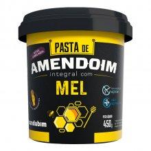 Pasta de Amendoim com Mel Orgânico (450g) - Mandubim