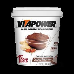 Pasta de Amendoim Integral (1.005kg) VitaPower-Cacau