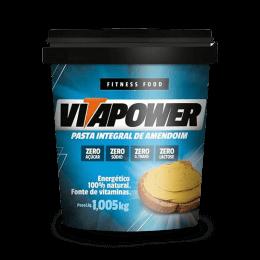 Pasta de Amendoim Integral (1.005kg) Vitapower