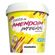 Pasta de Amendoim Integral (1020g) - Mandubim
