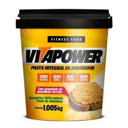 Pasta de Amendoim Integral com Granulado (1.005kg) VitaPower