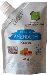Pasta de Amendoim Protein 200g - Eat Clean