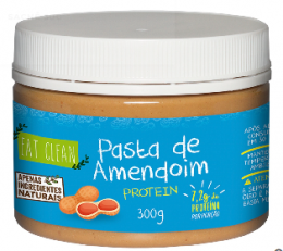 Pasta de Amendoim Protein 300g - Eat Clean