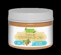 Pasta de Castanha de Caju com Leite de Coco 300g - Eat Clean