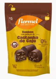 Pouch Bombom com Pedaços Castanha de Caju 75g - Flormel