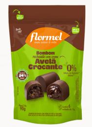 Pouch Bombom Recheio Creme Avelã Crocante 75g - Flormel