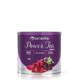 Power Tea Hibiscus Uva 200g - Sanavita