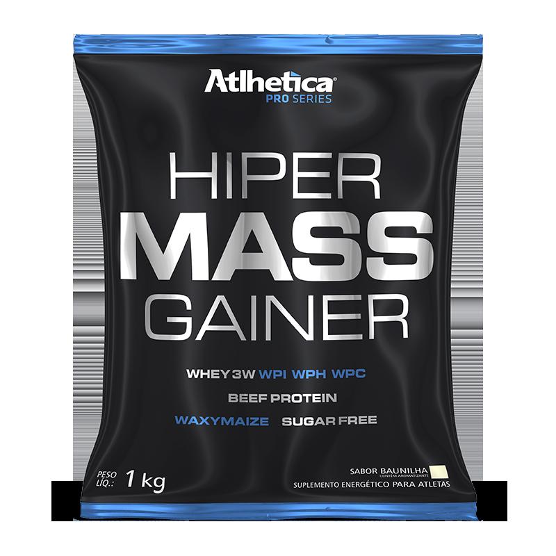 Hiper Mass Gainer (1000g) Atlhetica Nutrition-Baunilha