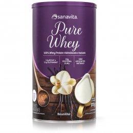 Pure Whey Baunilha 375 - Sanavita