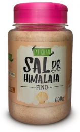 Sal Rosa Fino do Himalaia 600g - Eat Clean