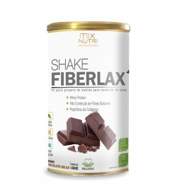 Shake Fiberlax Chocolate 450g- Mix Nutri