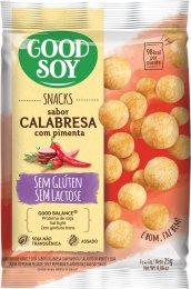 Snack de Soja Calabresa com Pimenta 25g - Good Soy