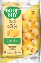 Snack de Soja Queijo 25g - Good Soy